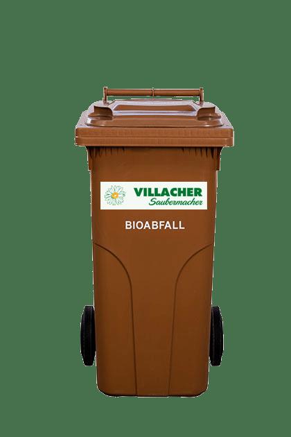 120 Liter Behälter vom Villacher Saubermacher