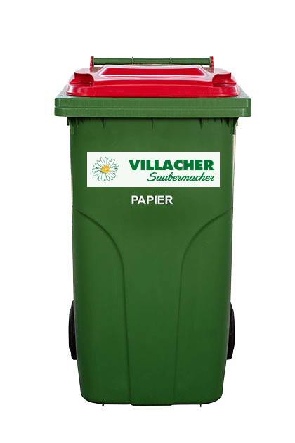 240 Liter Behälter vom Villacher Saubermacher