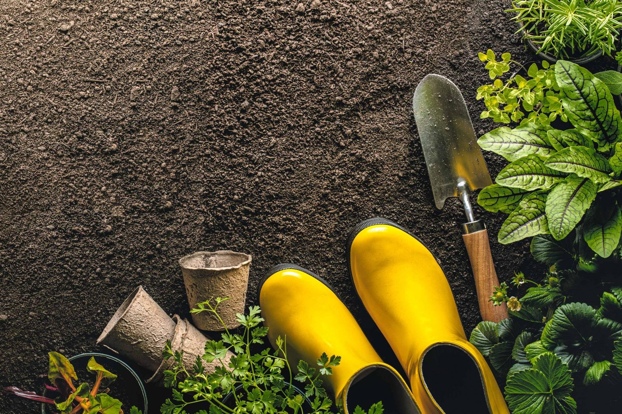 Wohlfühlgarten mit den Produkten vom Villacher Saubermacher
