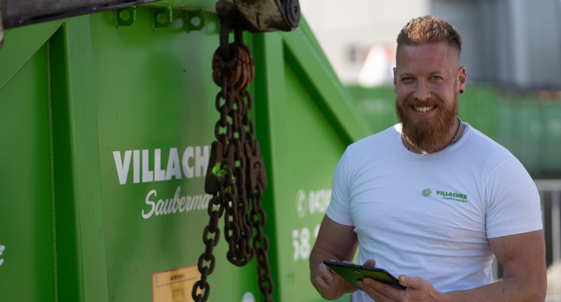 Behälter und Containerservices vom Villacher Saubermacher