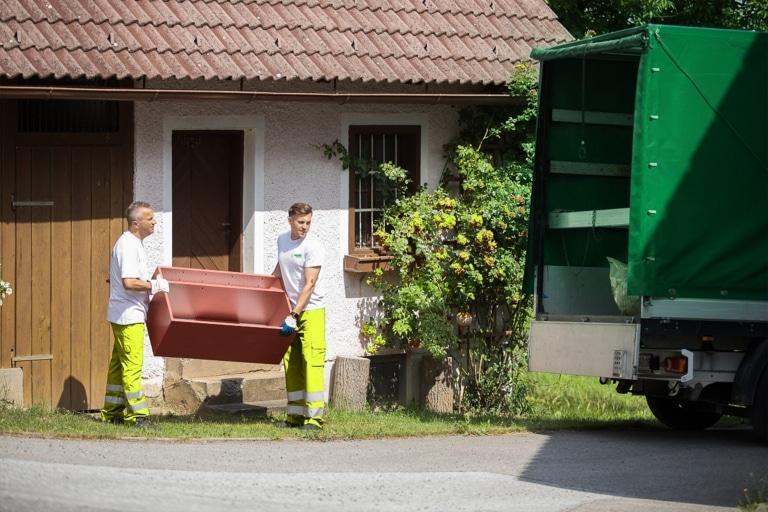 Abfallberatung & Entrümpelung vom Villacher Saubermacher
