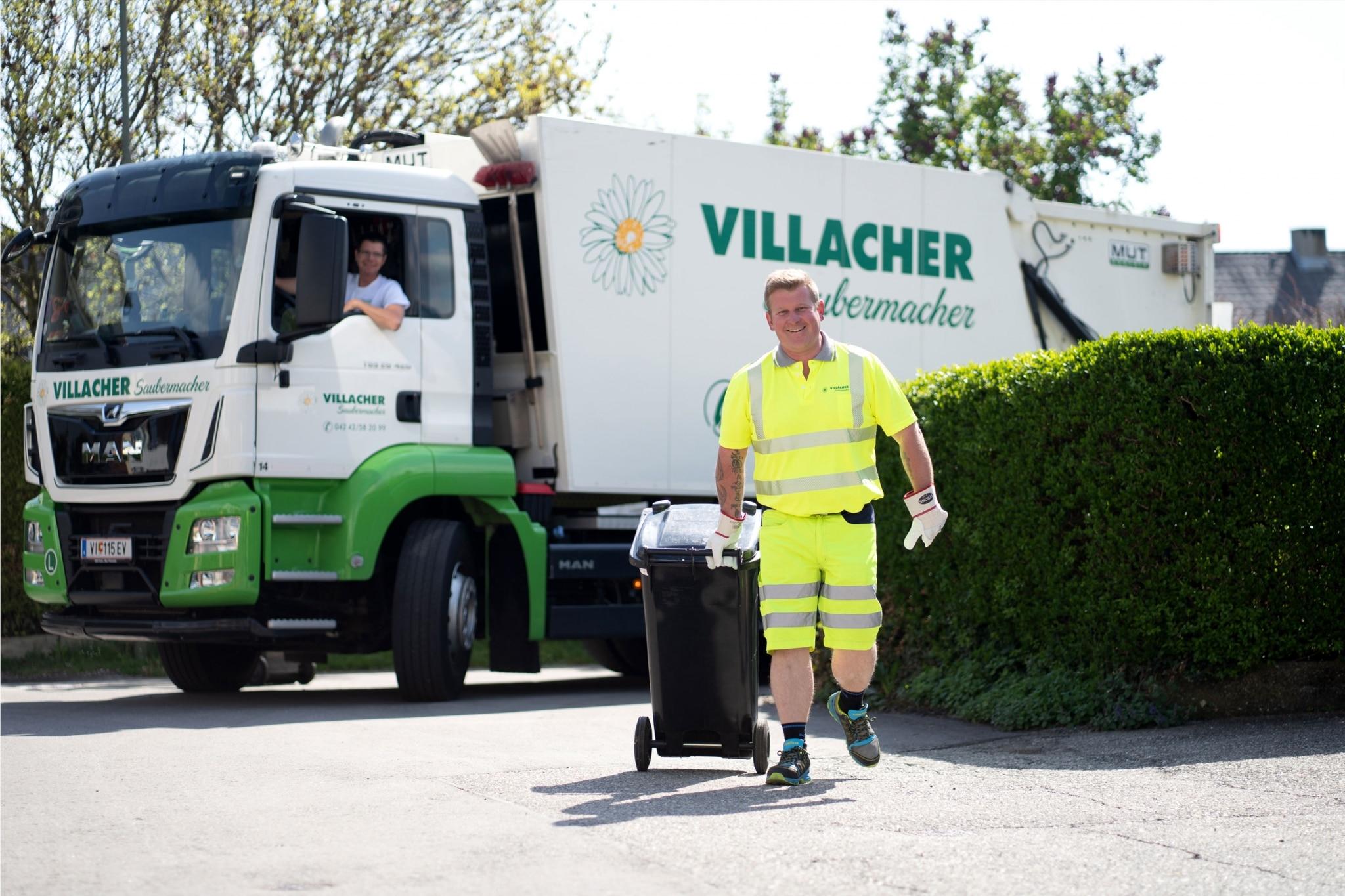 Villacher Saubermacher bietet vielfältige kommunale Dienstleistungen an