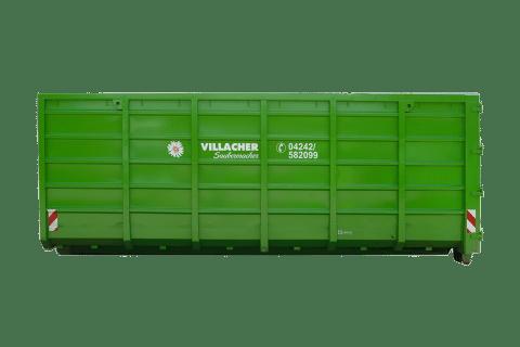 Abrollcontainer 30m³ offen vom Villacher Saubermacher