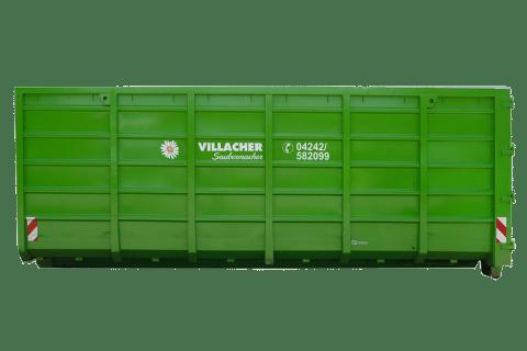 Abrollcontainer 36 m³ offen vom Villacher Saubermacher