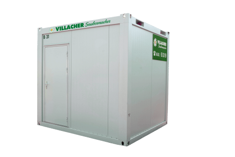 Büro-Container (10ft) vom Villacher Saubermacher