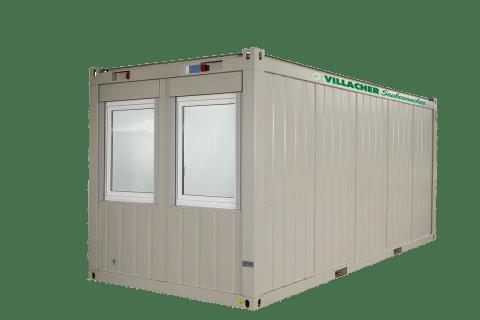 Büro-Container (20ft) vom Villacher Saubermacher