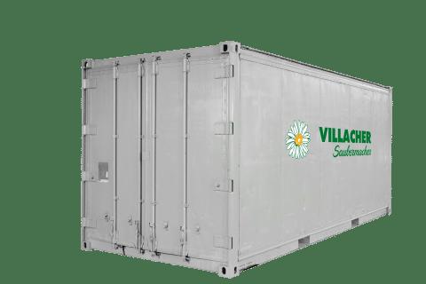 Lager-Container (20ft) vom Villacher Saubermacher (außen)