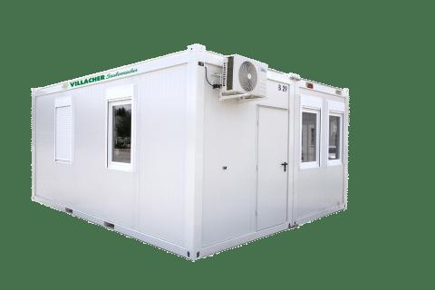 Doppelbüro-Container (20ft) vom Villacher Saubermacher