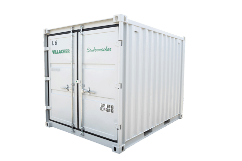 Lager-Container (9ft) vom Villacher Saubermacher