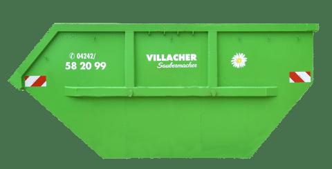 Mulde 10m3 offen vom Villacher Saubermacher