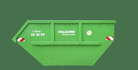 Mulde 7m3 offen vom Villacher Saubermacher