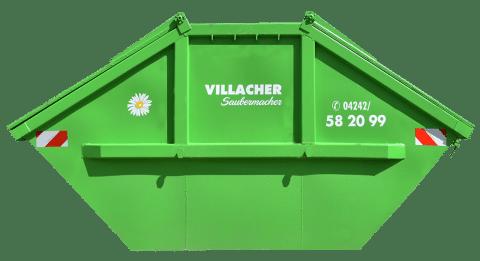 Mulde 10m3 mit Deckel vom Villacher Saubermacher