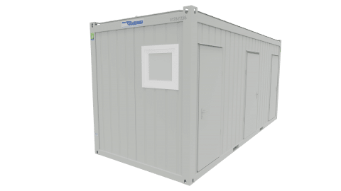 WC-Container Barrierefrei (20ft) vom Villacher Saubermacher