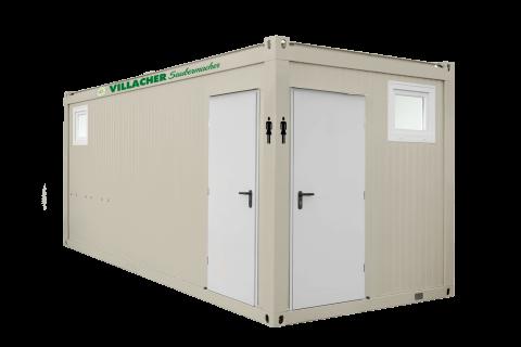 WC-Container Damen (20ft) vom Villacher Saubermacher