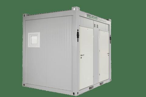 WC-Container Damen & Herren (10ft) vom Villacher Saubermacher