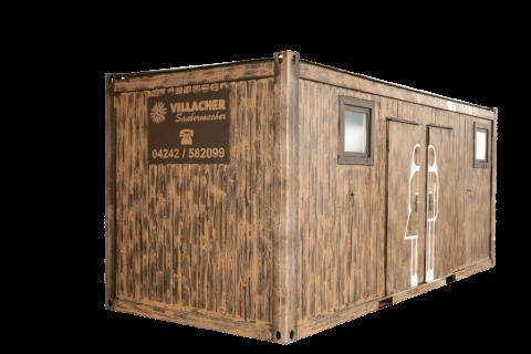 WC-Container Damen & Herren Nockberge (20ft) vom Villacher Saubermacher