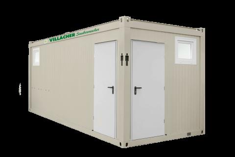 WC-Container Herren (20ft) vom Villacher Saubermacher