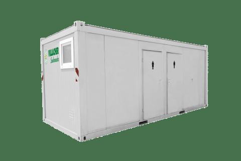 WC-Container Luxus Damen & Herren (20ft) vom Villacher Saubermacher